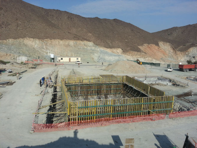 Sewage Treatment Plant in Khorfakkan