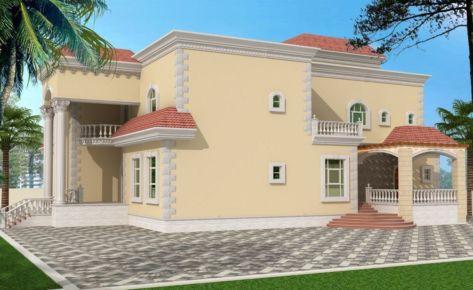 G+1 Residential Villa in Shakhboot City Abudhabi