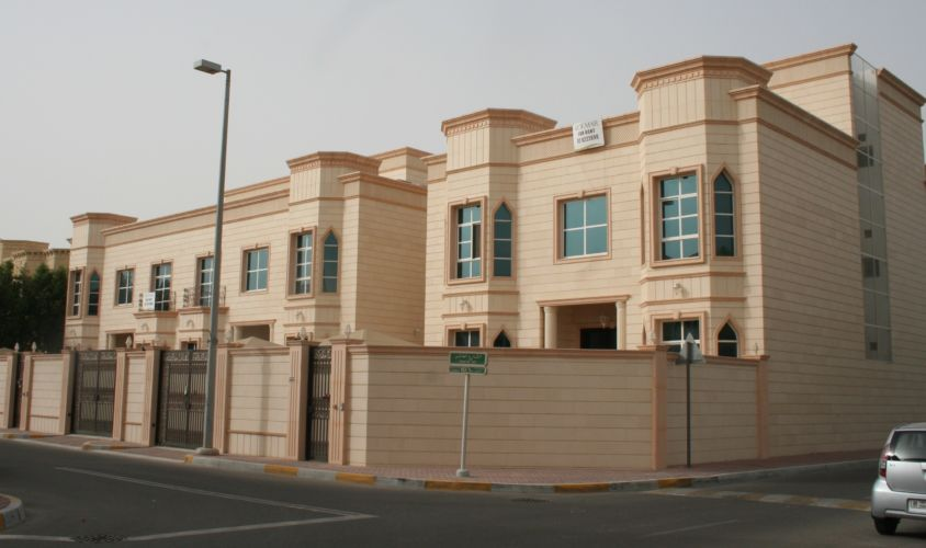 G + 1 Private Residential compound 3 Villas – Abu Dhabi