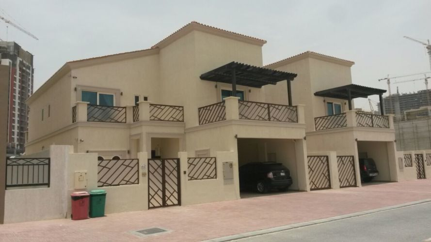 G+1 Two Residential Villas in Jumeirah Village Circle- Dubai