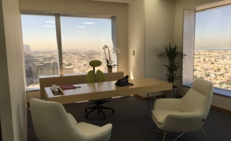 Office 1606 for Abbar at Conrad Building Sh Zayed Road- Dubai